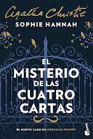 El misterio de las cuatro cartas   Nuevos misterios de Hercules Poirot #3   Sophie Hannah   Booket