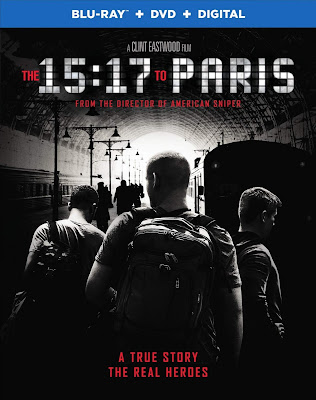 The 15:17 to Paris 2018 Eng 720p BRRip 700Mb ESub x264