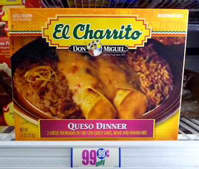 The 99 Cent Chef Deal Of The Day Queso Enchilada Dinner