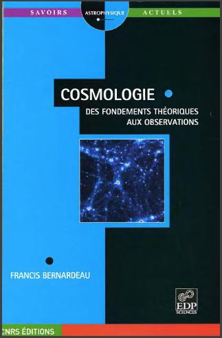 Livre : Cosmologie - Des fondements théoriques aux observations