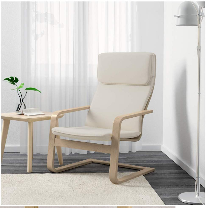 Newest IKEA Minimalist Modern PELLO Chair, with Holmby natural design ideas