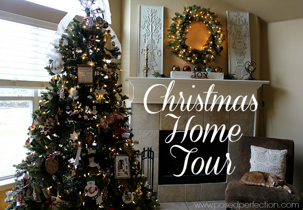 Christmas Home Tour featuring beloved collections.
