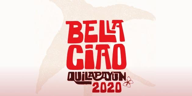 Cartel Bella Ciao Quilapayún