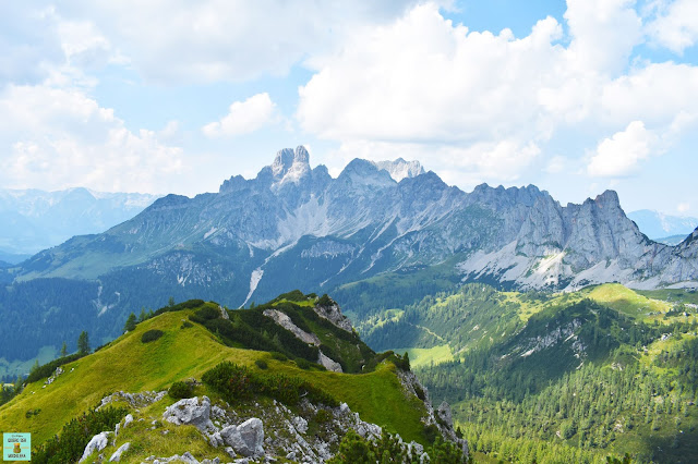 Dachstein Mountains en Salzburg, Austria