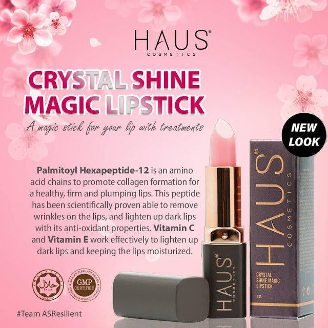 HAUS COSMETICS MAGIC LIPSTICS RAWAT BIBIR HITAM