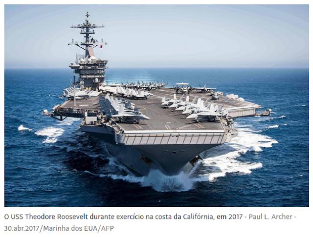 Coronavírus: Marinha dos EUA volta atrás na dispensa de capitão de navio que pediu ajuda para evacuar tripulação