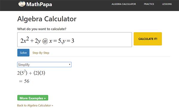 موقع لحل أصعب المعادلات الرياضية مع تقديم رسم بياني لها وخطوات الحل !