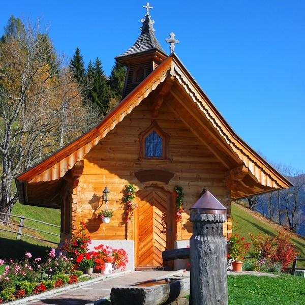 autriche salzbugerland zell am see randonnée mitterberg chapelle