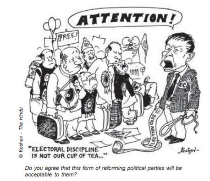 CLASS X POLITICAL SCIENCE IMPORTANT CARTOON BASED
