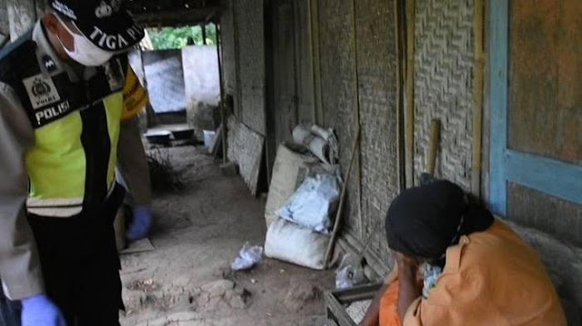 Kisah Haru Mbah Katinem Nangis Baru Pertama Dapat Bantuan Sembako, Sebatang Kara Hidup di Gubuk Reot