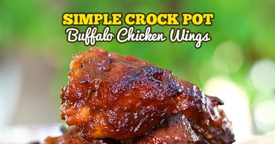 Simple Crock Pot Buffalo Chicken Wings (With NEW VIDEO)