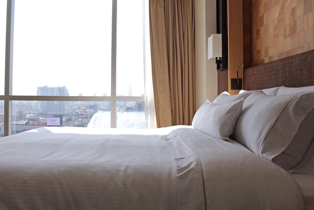 Bedroom at The Westin Lima, Peru - luxury travel blog