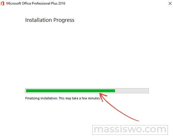 instal microsoft office 2016