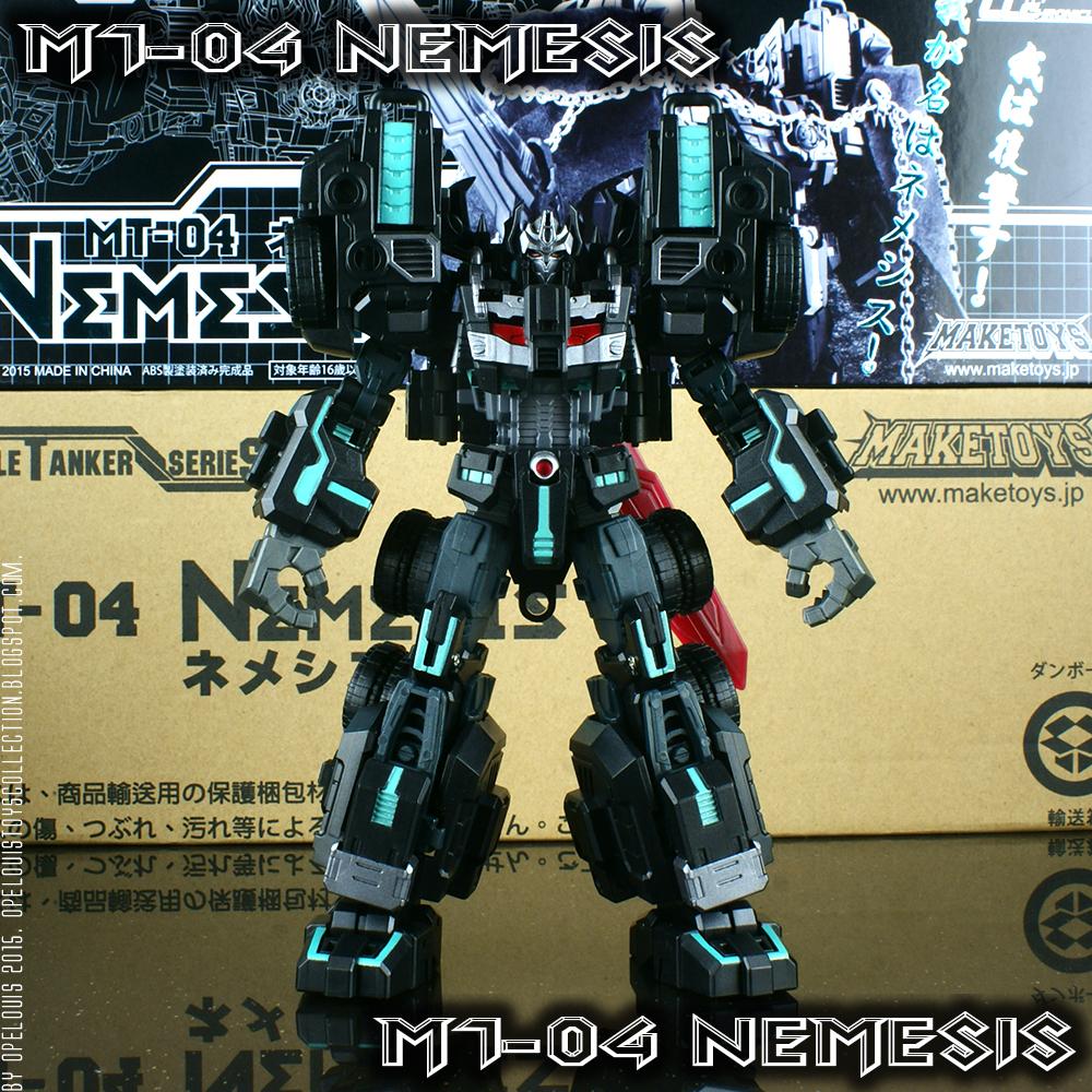 Limited Version MakeToys BATTLE TANKER MT-04 NEMESIS