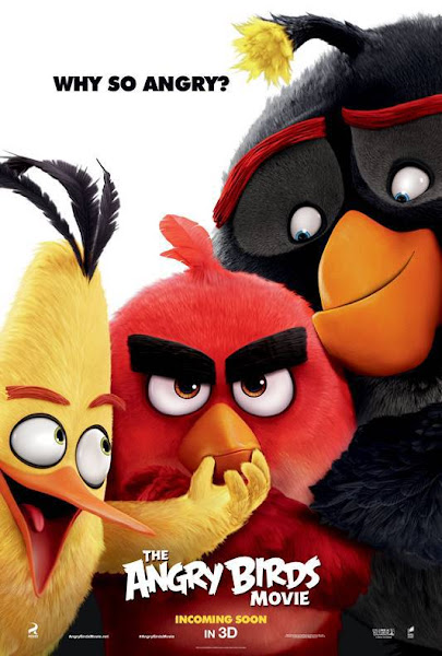 Poster of Angry Birds 2016 720p Hindi BRRip Dual Audio Full Movie Download