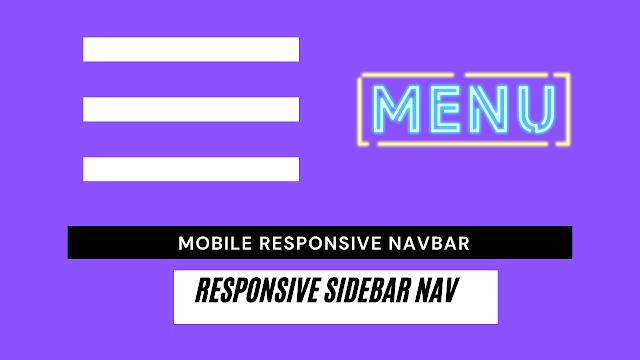 How to create a Sidebar Nav? What is Sidebar Nav?