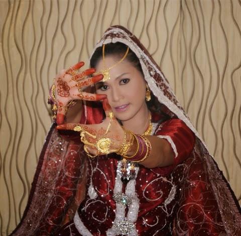 model baju pengantin india