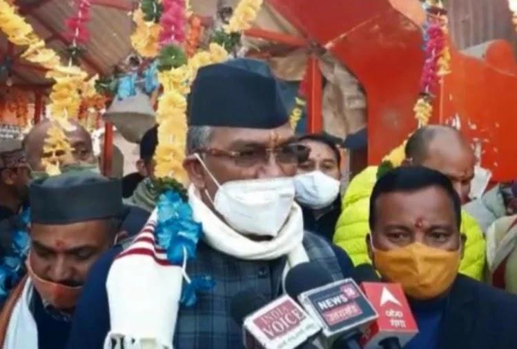 मुख्यमंत्री त्रिवेंद्र ने किए गोल्ज्यू देवता के दर्शन