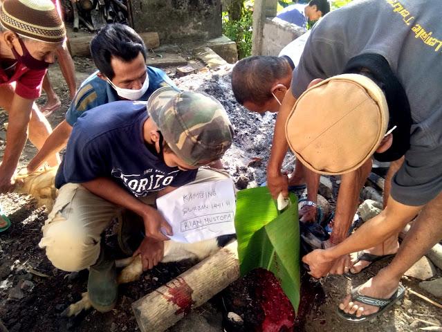 Peringatan Hari Raya Idul Adha 2020 di Dusun Kaliduren, Kebonharjo, Samigaluh
