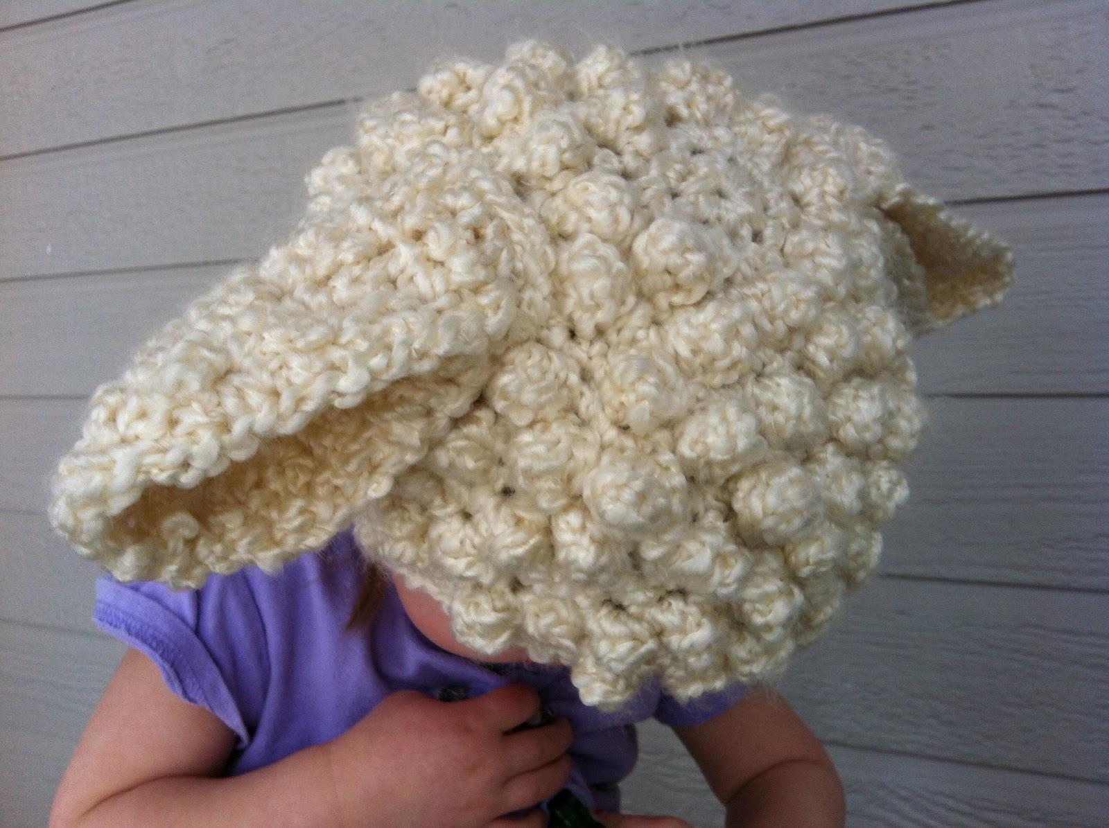 dfc23ac98d3 Design Adventures  Crochet Lamb Hat