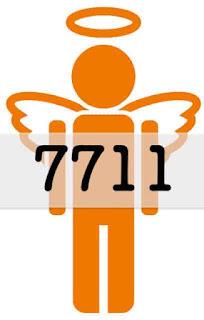 エンジェルナンバー 7711