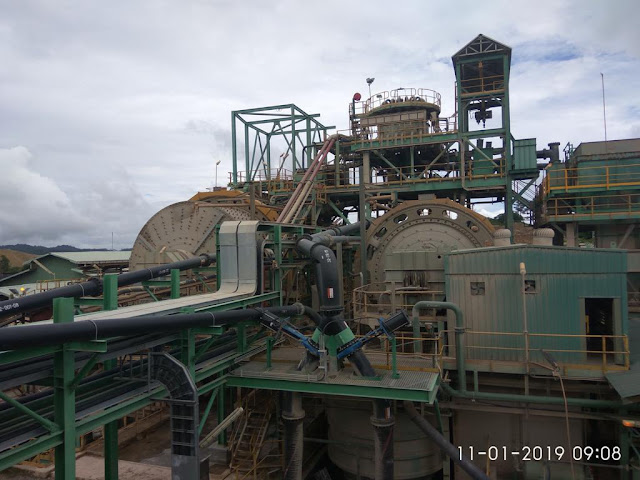 mill pabrik pengolahan emas