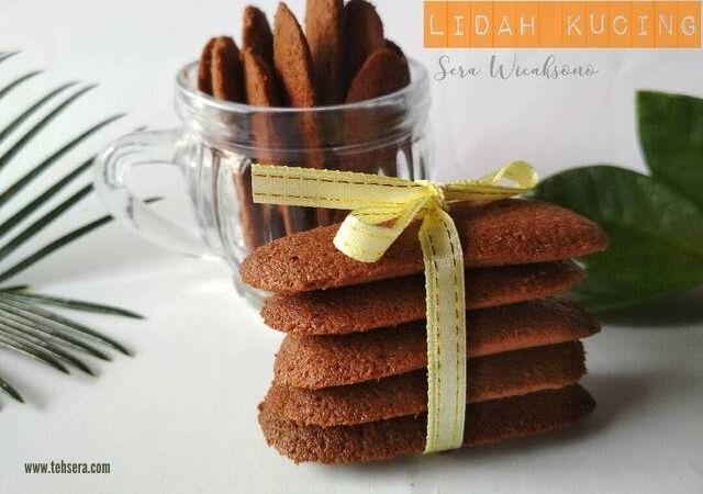 Kue Lidah Kucing Coklat dari Sisa Buttercream