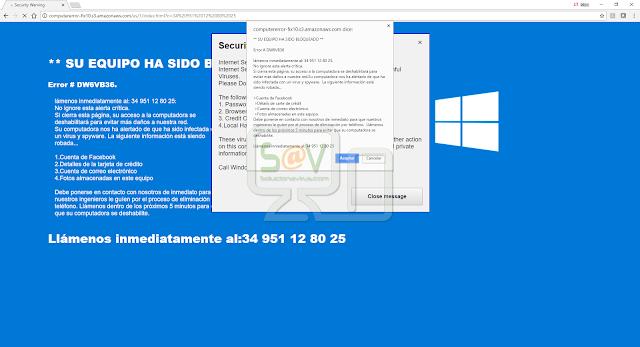 Computererror-fix10.s3.amazonaws.com (Falso soporte)