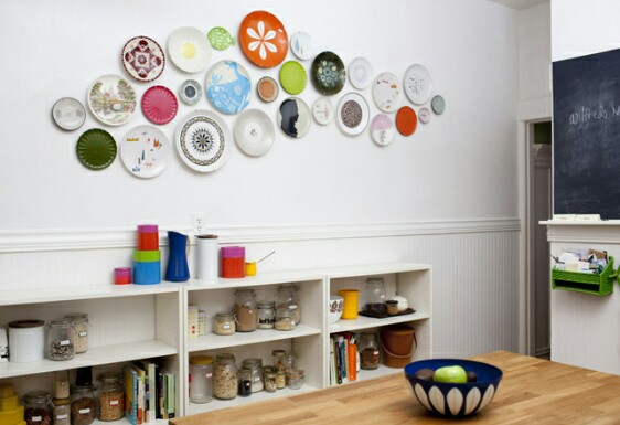 Plate Decoration Ideas on the Wall