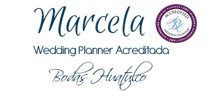 Wedding Planner Acreditada Marcela Villaseñor