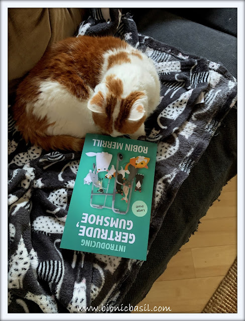 Book Reviews with Amber  #143 ©BionicBasil®Introducing Gertrude, Gumshoe
