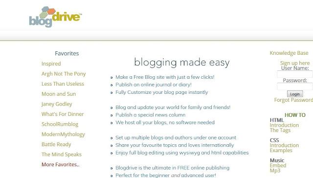 Sitios para crear blogs gratis