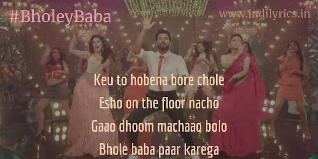 Bholey Baba Paar Karega | ft. Badshah | Villain | Full Song Lyrics with English Translation and Real Meaning