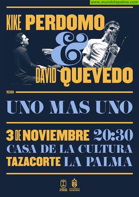 El Cabildo programa una velada de jazz íntimo y emotivo a cargo de los canarios Kike Perdomo y David Quevedo