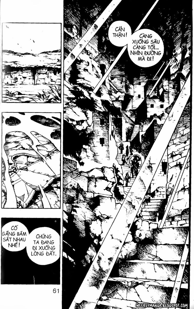 Shaman King [Vua pháp thuật] chap 107 trang 3