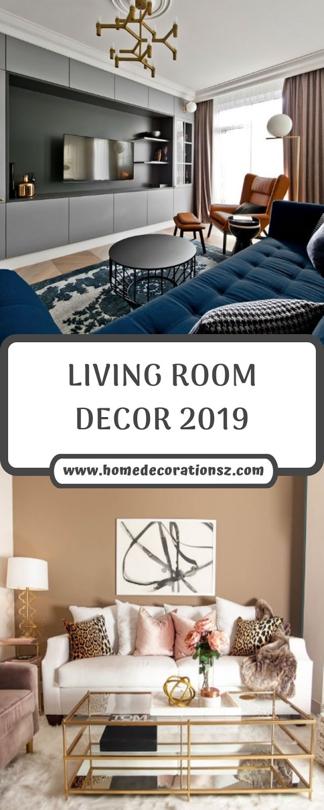 LIVING ROOM DECOR 2019
