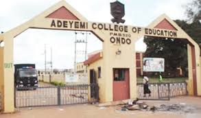 ACE, Ondo 2017/2018 NCE Comprehensive Admission List Out