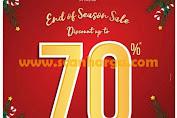 Promo WAKAI Terbaru End Of Season Sale 70% Periode 13 Desember - 5 Januari 2020