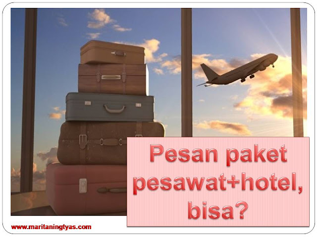 pesan paket+hotel traveloka