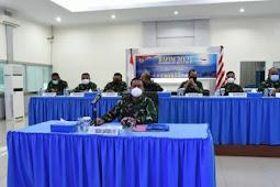 Wayan Ariwijaya Hadiri RAPIM Virtual  TNI AL