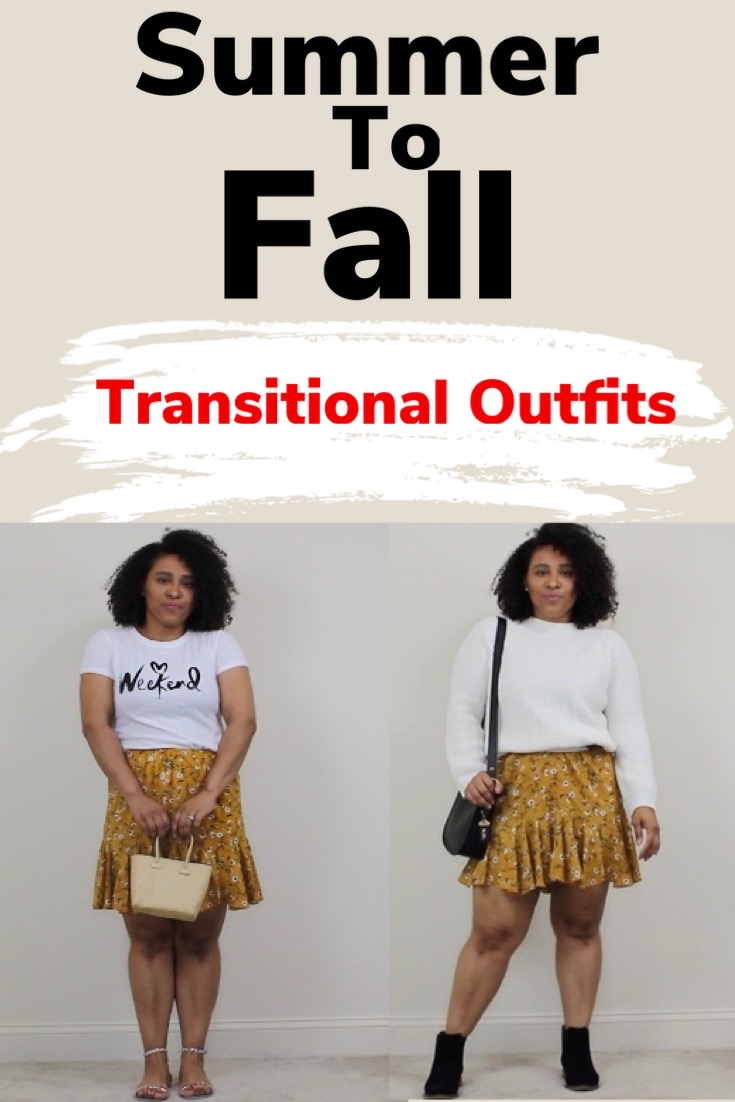 HOW TO TRANSFORM OUTFITS FROM SUMMER TO FALL