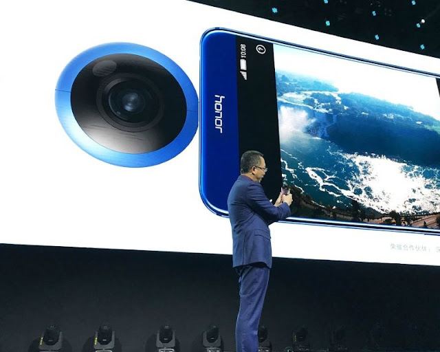 Huawei presents a 360 ° camera and the world wonders if fashion has not passed