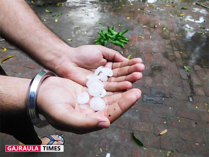 gajraula-rain-picture