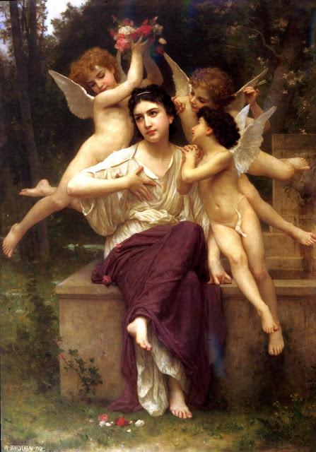 Адольф Вильям Бугро - Мечта весны (1901)