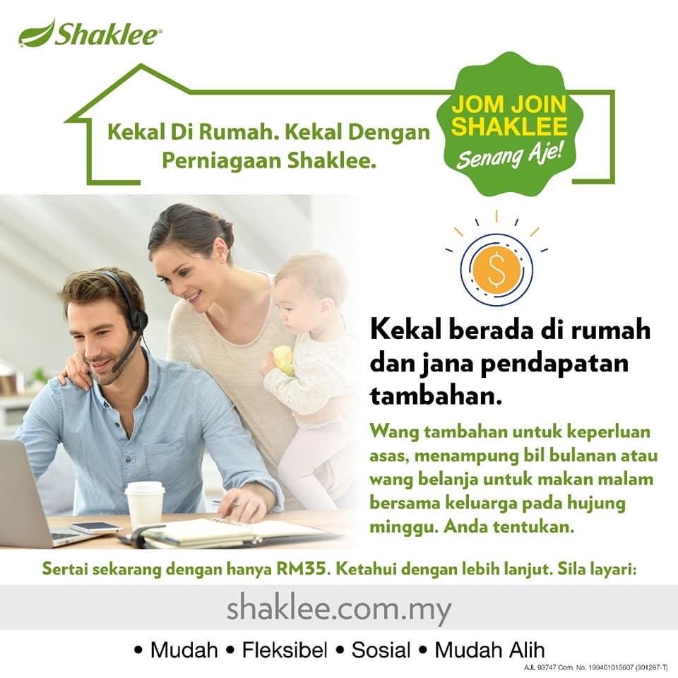 Bisnes shaklee mudah, bisnes online tanpa modal, bisnes shaklee tanpa modal