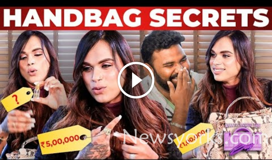 HAND BAG SECRETS நிகழ்ச்சியில் மாட்டிக்கொண்ட ஷகிலா மகள் ???