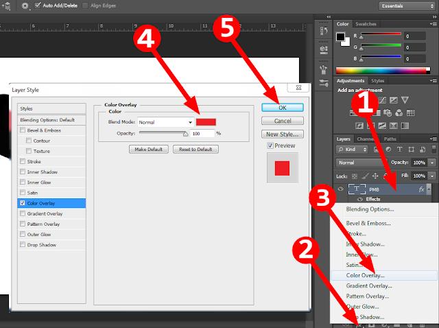 Cara Mudah Memmbuat Efek Long Shadow dengan Photoshop