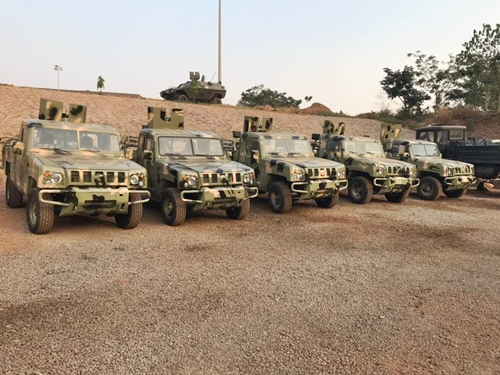 Army begins local production of tactical vehicles