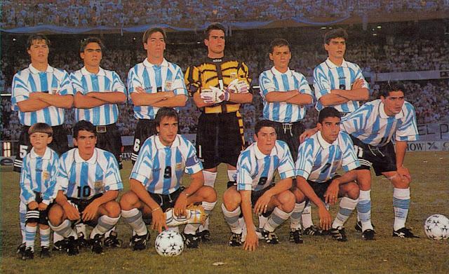 Formación de Argentina ante Chile, Clasificatorias Francia 1998, 15 de diciembre de 1996