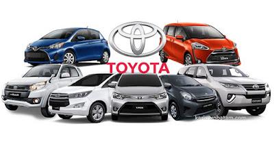 Daftar  Mobil Merk Toyota Terbaik